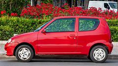 The streets of Bari (Leaning Ladder) Tags: bari italy italia puglia apulia cars red colors canon 7dmkii leaning ladder leaningladder 7d mkii