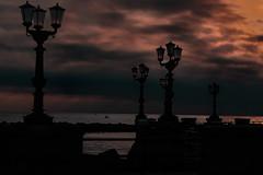 Early morning in Bari (Leaning Ladder) Tags: bari italy italia puglia apulia sky sunrise canon 7dmkii leaning ladder leaningladder 7d mkii