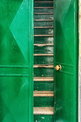 The doors of Bari (Leaning Ladder) Tags: bari italy italia puglia apulia doors green colors canon 7dmkii leaning ladder leaningladder 7d mkii