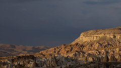 Evening falls over Cappadocia, Turkey (dirk huijssoon) Tags: turkey cappadocia evening landscape