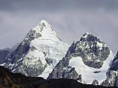 Nevado Santa Catalina (Mono Andes) Tags: andes cordilleravilcanota mountain cusco backpacking trekking glacier