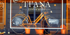 Biking in Lithuania (mandalaybus) Tags: lithuania vilnius bike bikes bicycle bicycles restaurant restaurants cafe cafes colorfu