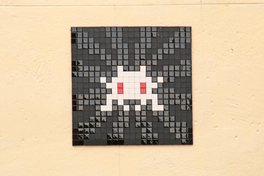The Worlds Best Photos Of Noiretblanc And Spaceinvader