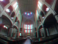 Koepelkerk Hoorn 3D GoPro (wim hoppenbrouwers) Tags: anaglyph stereo redcyan koepelkerk hoorn 3d gopro