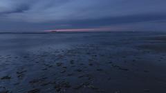 Into the dark (Elke Bosma-Prins) Tags: sunset sundown sea boats dark ameland seashell northsea seascape