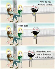 I Wanna Talk To Your Friend ! Haha (gagbee18) Tags: aww friends funny jokes wtf