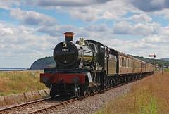 7828 Odney Manor (gareth46233) Tags: 7828 odney manor dingles crossing blue anchor wsr west somerset railway