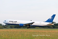 B767-36N(ER\F) OY-SRU STAR AIR (shanairpic) Tags: jetairliner cargo freighter shannon starair oysru