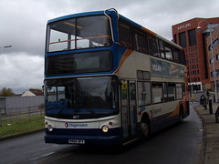 Stagecoach TransBus Trident (TransBus ALX400) 18177 MX04 XFV (Alex S. Transport Photography) Tags: bus outdoor road vehicle stagecoach stagecoachwest alx400 dennistrident transbustrident trident alexanderalx400 transbusalx400 route10 18177 mx04xfv