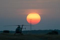 sunset (perez rayego) Tags: sol sun ocasosolar sunset manchas solares sunspots manchassolares helicóptero helicopter atardecer