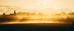 Misty Sunrise (graemes83) Tags: sunrise dawn morning mist misty fog orange sun landscape field trees