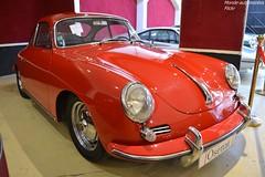 Porsche 356 1600 S B-T6 1962 (Monde-Auto Passion Photos) Tags: vehicule voiture auto automobile porsche 356 coupé red rouge ancienne classique rare rareté collection sportive vente enchère osenat france fontainebleau