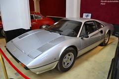 Ferrari 308 GTB 1980 (Monde-Auto Passion Photos) Tags: voiture vehicule auto automobile ferrari 308 gtb coupé gris grey ancienne classique rare rareté collection sportive supercar vente enchère osenat france fontainebleau