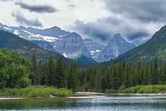 Montana (Rob McC) Tags: landscape waterton montatna mountains sky lake waterfront usa wilderness woodland forest