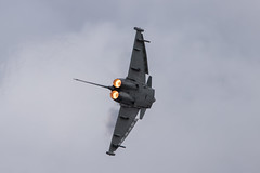 Eurofighter Typhoon pulling hard on full power (wells117) Tags: airtattoo militaryaircraft awesome riat warmachine fly allweather vapour fighter militaryfighter interceptor supersonic jet military display fairford2019 noisy sleek fighterjet machine airforce militaryjet aeroplane flying fast airshow aircraft eurofighter agile condensation jetfighter war afterburners power rawpower typhoon miltaryaircraft movement slats foreplanes reheat powerful airpower swindon gloustershire england