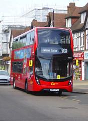 GAL EH311 - YW19VPC - HGH STREET ORPINGTON - WED 31ST JULY 2019 (Bexleybus) Tags: orpington high street tfl route br6 goahead go ahead london adl dennis enviro 400 mmc 208 eh311 yw19vpc