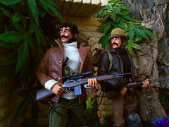 A way Home. (Blondeactionman) Tags: action man custom bamhq diorama one six scale playscale doll photography dinosuar valley teegan wilberforce chas anderson