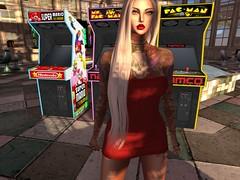 Arcade (ivyisla.sl) Tags: secondlife slphotography sl secondlifephotography secondlifestyle slavatar slfashion avatar virtualworld virtualphotography virtualmodel virtualworlds arcade