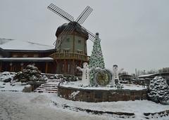 Lido (galterrashulc) Tags: irina galitskaya galterrashulc lido latvia riga winter snow restourant windmill house city town urban christmas