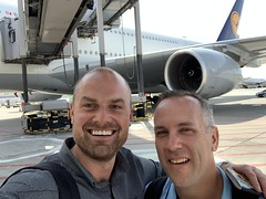 Lufthansa A380 First Class FRA - MIA 2019 (johncdenman) Tags: lufthansa aviation airline airlines firstclass a380 fra frankfurt airport travel