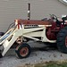 IH 706 gas tractor