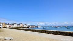 Ile-de Sein   Bretagne - Finistère (jean-paul Falempin) Tags: nikon ciel mer port voiliers bateaux finistère brittany