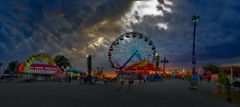 Enchanted Night (boriches) Tags: fair carnival midway rides ferriswheel