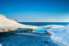 At The Beach (George Plakides) Tags: lee nd10 le longexposure sea rocks beach