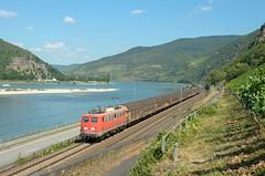 Bayern Bahn 140 432, Assmannshausen (Sander Brands) Tags: trein treni train treno trenuri trenuro traktion 140 d7000 db ex henkel rail railfanning rhein rheintal altbau nikon züg güterzug