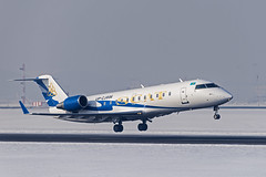 SCAT Air CRJ-200 (tzhskz) Tags: aircraft airplane airliner ala airport runway jet takeoff crj200er upcj006 uaaa kazakhstanspottingclub ksc winter snow