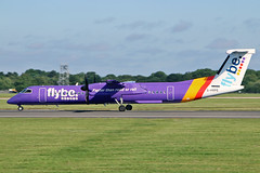 G-PRPE DHC-8Q 402 flyBe MAN 23-07-19 (PlanecrazyUK) Tags: egcc manchester ringway manchesterairport gprpe dhc8q402 flybe man 230719