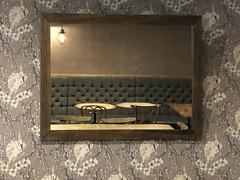 empty (Hayashina) Tags: london café mirror seat table empty wallpaper