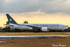 [ORY] Ceiba Intercontinental Boeing 777-200 _ CS-TQX (thibou1) Tags: thierrybourgain ory lfpo orly spotting aircraft airplane nikon d810 tamron sigma ceibaintercontinental cstqx boeing boeing777 b777 b772 b777200 takeoff transavia guineaecuatorial