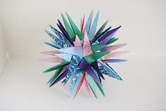Capstone Dodecahedron (Byriah Loper) (Byriah Loper) Tags: origami origamimodular modularorigami modular kusudama byriahloper paperfolding paper polygon polyhedron