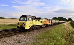 70802 Slitting Mill UWC 02 Aug 19 (doughnut14) Tags: colas 70802 rail freight diesel loco slitting cement westthurrock oxwellmains stp cum oldroad 4s89 midland tarmac ermewa