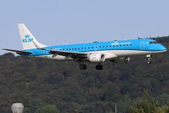 PH-EZL (GH@BHD) Tags: phezl embraer erj190100std klmcityhopper belfastcityairport erj erj190 kl klm royaldutchairlines regionaljet aircraft aviation airliner bhd egac