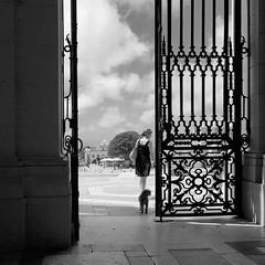 the hidden third (petergrossmann) Tags: portugal mafra palacio nacional blackandwhite