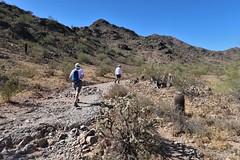 Phoenix Mountain Park (karma (Karen)) Tags: phoenix arizona phoenixmountainpark desert trails cactus succulents shadows family