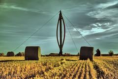 Darrieus experimental wind pump (markbangert) Tags: darrieus wind pump energy heroldstatt nikon fx d610 infrared infrarot infrarouge 550nm