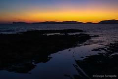 La marea della sera... (giobertaskin) Tags: sardegna silhouette mare sardinia rada alghero crepuscolo alguer algher promontorio capocaccia canon sera marea