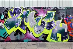 2Much (Alex Ellison) Tags: 2much eastlondon shoreditch urban graffiti graff boobs