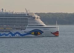 Detail of cruise ship AIDAprima (frankmh) Tags: ship cruiseship aida aidaprima öresund bow detail