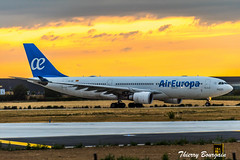 [ORY] AirEuropa Airbus A330-200 _ EC-JQG (thibou1) Tags: thierrybourgain ory lfpo orly spotting aircraft airplane nikon d810 tamron sigma aireuropa a330 a330202 airbus airbusa330 ecjqg takeoff madrid angelnieto