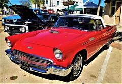 1957 Ford Thunderbird (ciscoaguilar) Tags: 1957 ford thunderbird cruisin pascagoula mississippi classic car