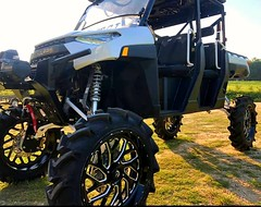 "CATVOS ranger 1000 5"" lift, portal proof arms, Keller Mega ball joints www.catvos.net (CATVOS) Tags: catvos canam x3 customatv utv lift maverick polaris rzr ranger bkt tires customatvofshreveport"
