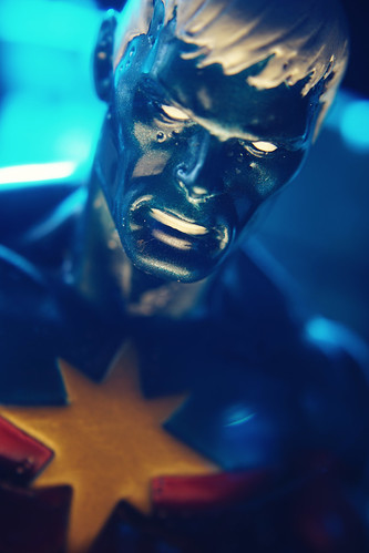 There's questions I would like to ask you. Motivations I wish I could understand. #toyphotography #marvel #captainmarvel #genisvell #cosmicawareness