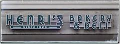 HENRI'S BAKERY & DELI Sign   Sandy Springs, GA (steveartist) Tags: signs storesigns typography letters henri'sbakery sandyspringsga sonydscwx220 snapseed retrodesign photobystevefrenkel