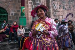 Colorful Peruvian Dress (shapeshift) Tags: d700 candid candidphotography celebration children clouds colorful costumes cusco cuzco dancers davidpham davidphamsf documentary festivities gatherings nikon people peru shapeshift shapeshiftnet southamerica streetphotography theamericas traditional travel wedding