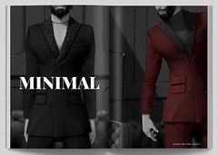 MINIMAL - James Suit (MINIMAL Store) Tags: minimal james suit clothes tmd eventsl secondlife slevent