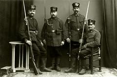 Landsturmmänner from the 34th Infanterie Brigade / 1. Landsturm Infanterie Ersatz Bataillon 'Bremen' (IX. 30) (✠ drakegoodman ✠) Tags: ix30 ww1 bremen 1weltkrieg